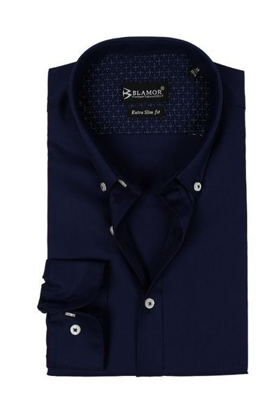 Extra Slim Fit Dark Navy Shirt