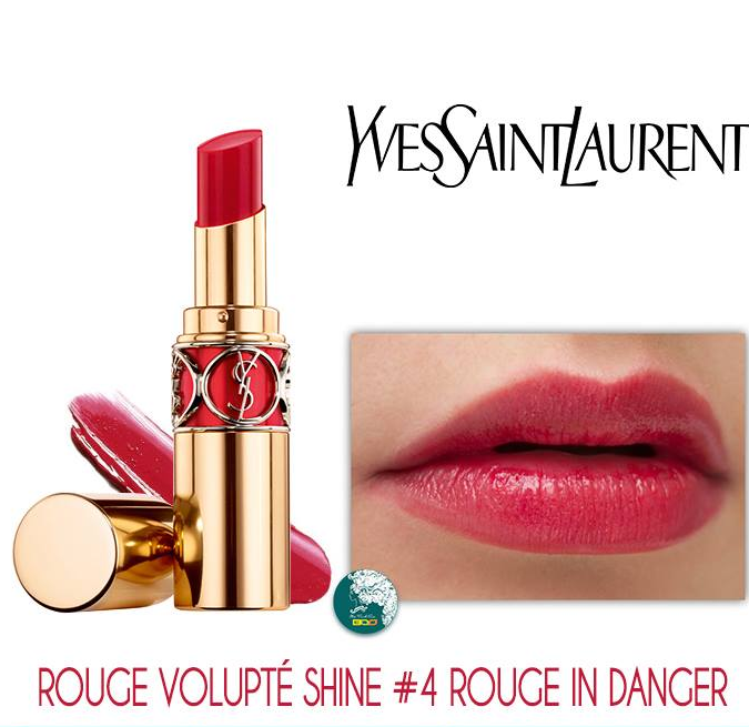 Rouge in Danger dòng Rouge Volupte Shine của Yves Saint Laurent- model