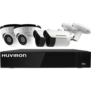 Bộ Kid Huviron 4 camera POE IP 2.0Mp