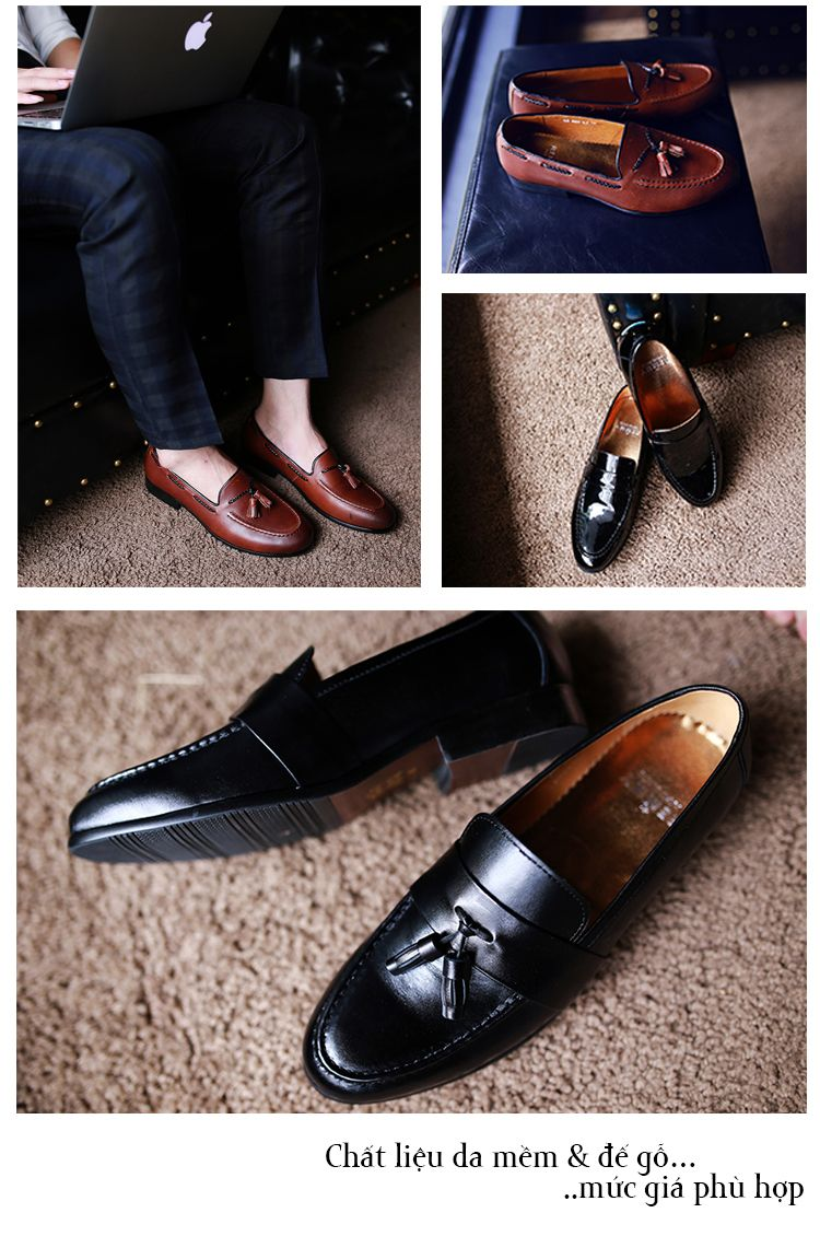 Giày loafer made in Viet Nam