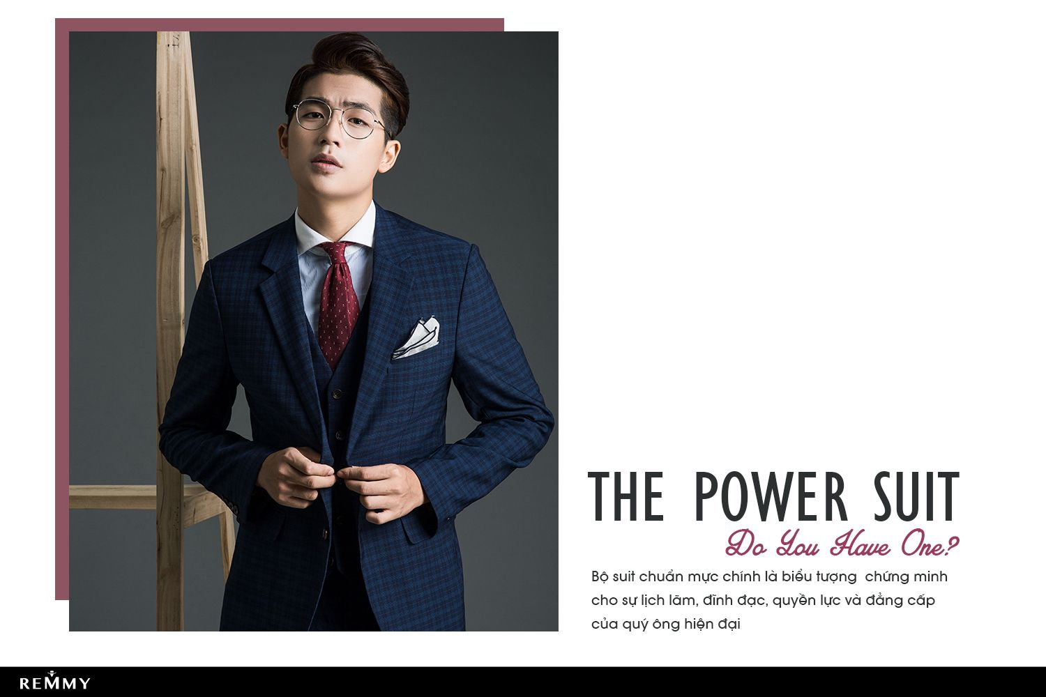 THE POWER SUIT- DO YOU HAVE ONE?