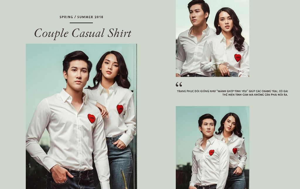 COUPLE CASUAL SHIRT- The Power of Love