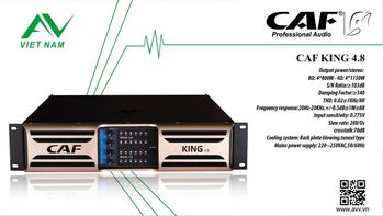 MAIN POWER CAF KING 4.8