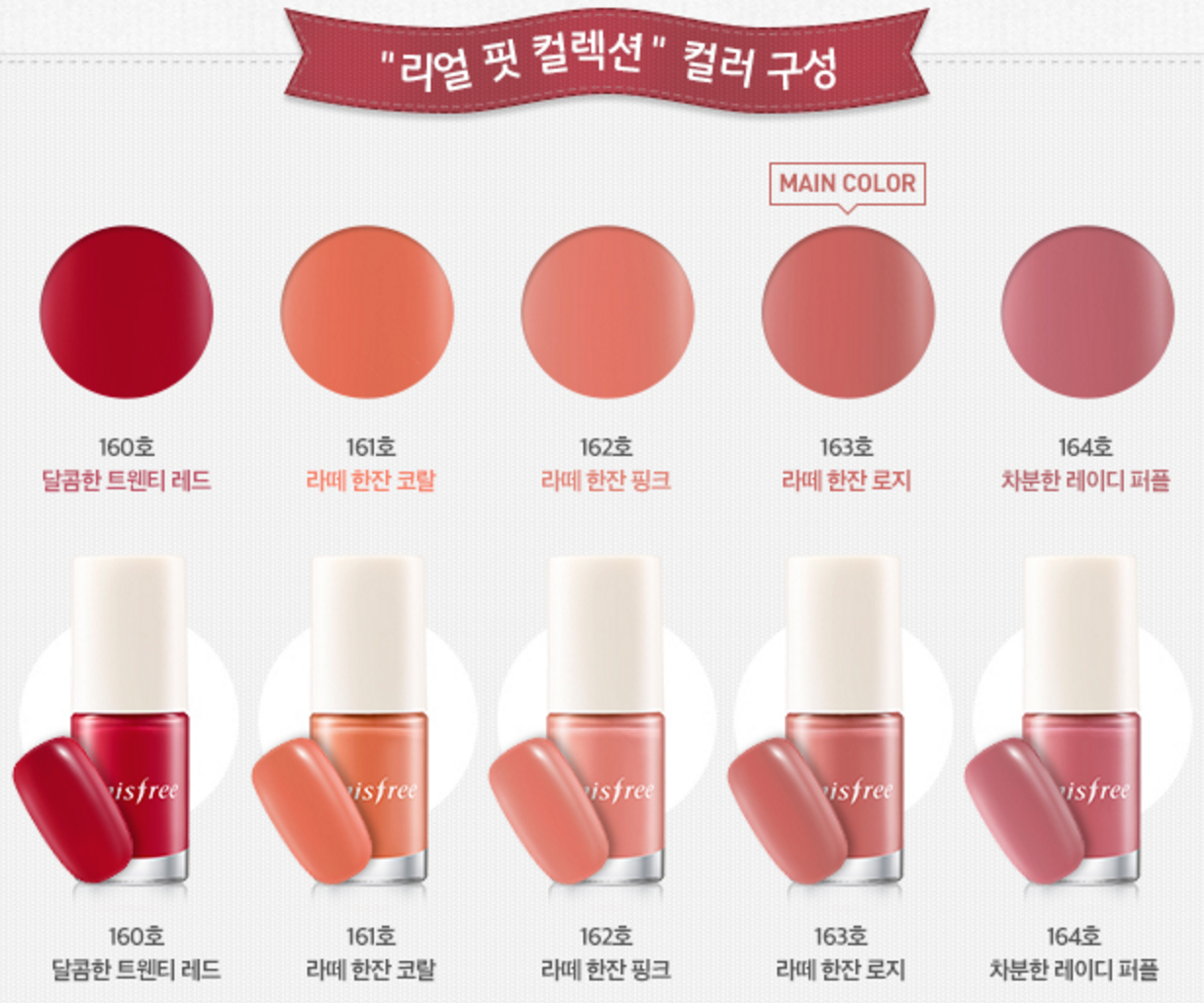 Eco nail color collection PRo Lee at first glance