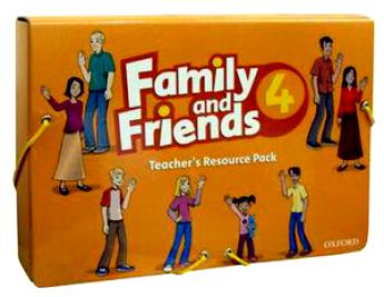 FLASHCARD FAMILY AND FRIENDS 4