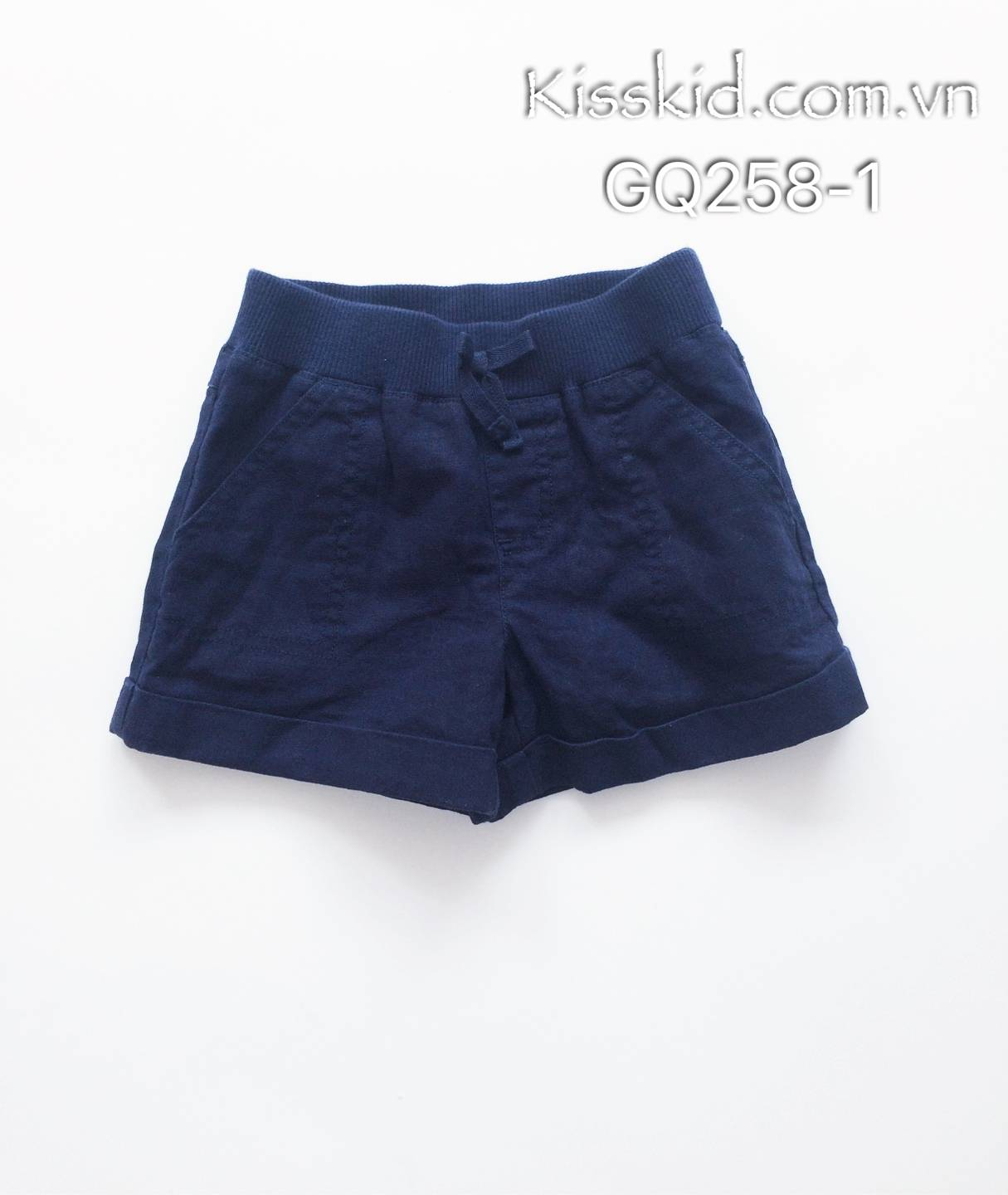 Quần short BG Gymboree màu tím than
