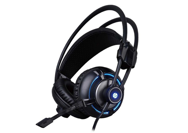 HEADSET HP H300 LED USB +3.5MM