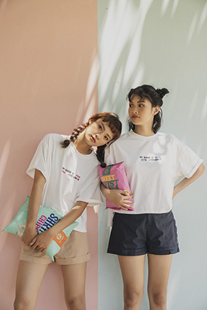 0519 Color Tee (Thêu)