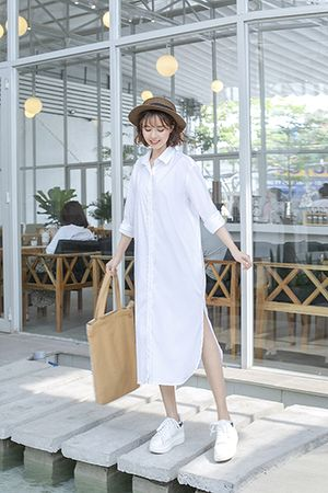 0519 Dreamie Shirt Dress (kèm đầm lót)