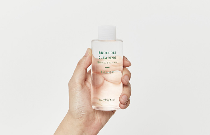 nuoc hoa hong Innisfree Broccoli Clearing Toner