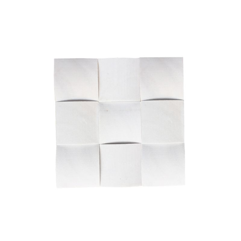 Milky White Dome Tiles