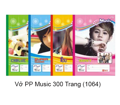 Vở Pupil Music 300T - 1064