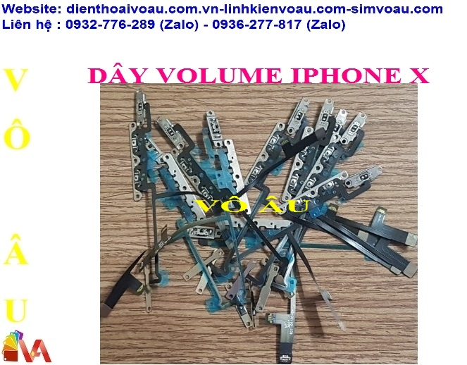 DÂY VOLUME IPHONE IPHONE X