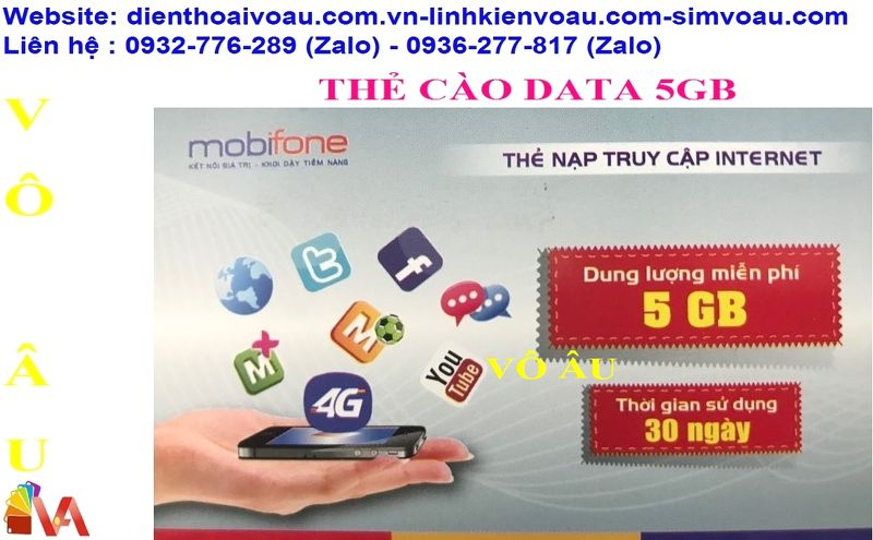 THẺ DATA 5GB