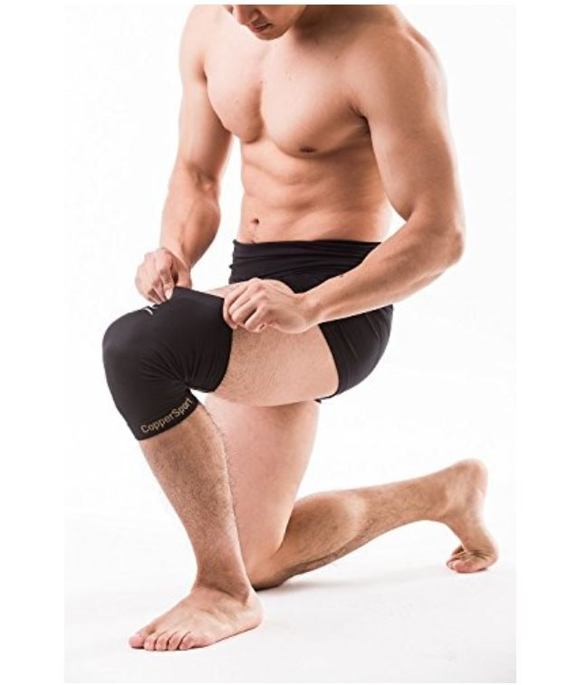 Bó gối Copper Compression Knee Sleeve