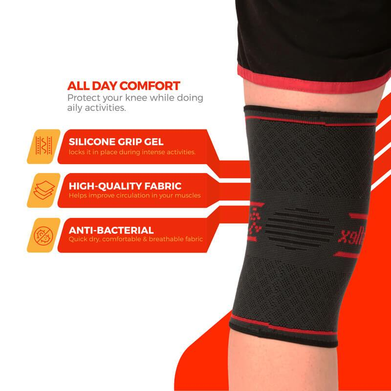 Bó gối UFlex Knee Compression Sleeve