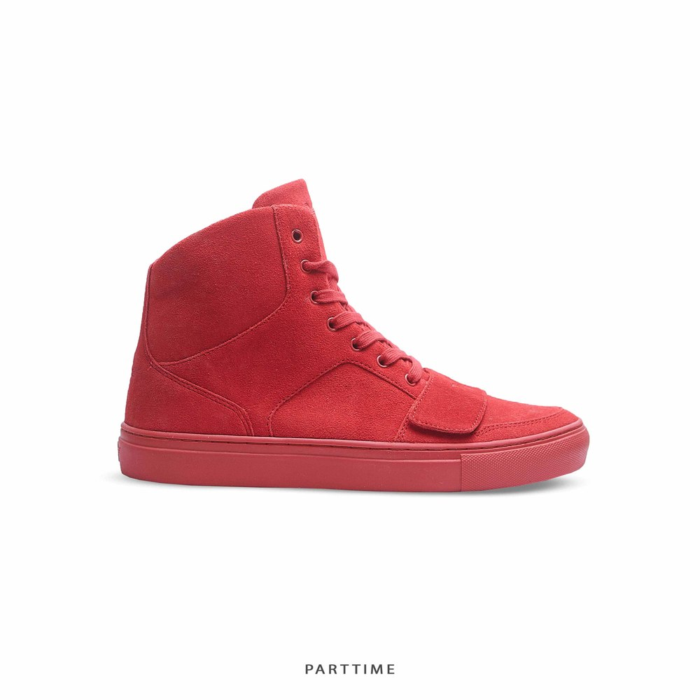 CREATIVE CESARIO - Suede - Red