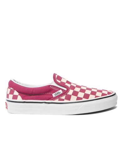 Giày Sneaker Vans Checkerboard Slipon - Dry Rose