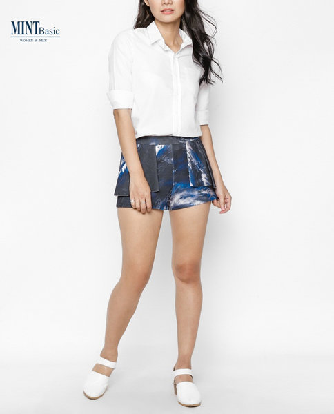 Cotton Shirt ( WHITE )