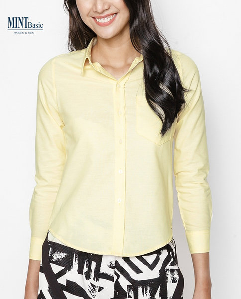 Cotton Shirt ( YELLOW )