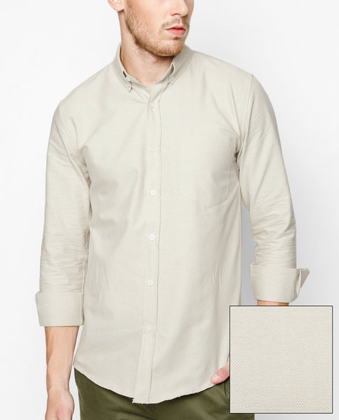 Cotton Oxford shirt (OW)
