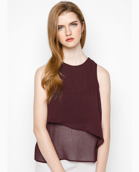 DOUBLE LAYER TOP ( RE )