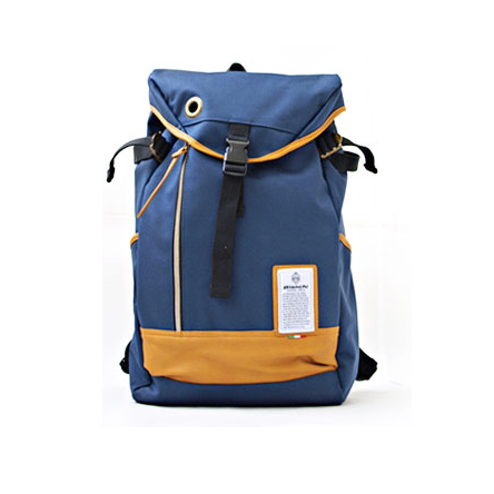 Balo Bianchi Flap Canvas Backpack