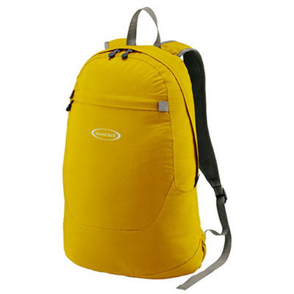 Balo MontBell Pocketable Light Pack 15L Yellow