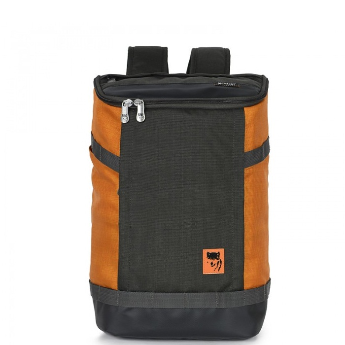 Balo Mikkor The Irvin Backpack CharcoalOrange