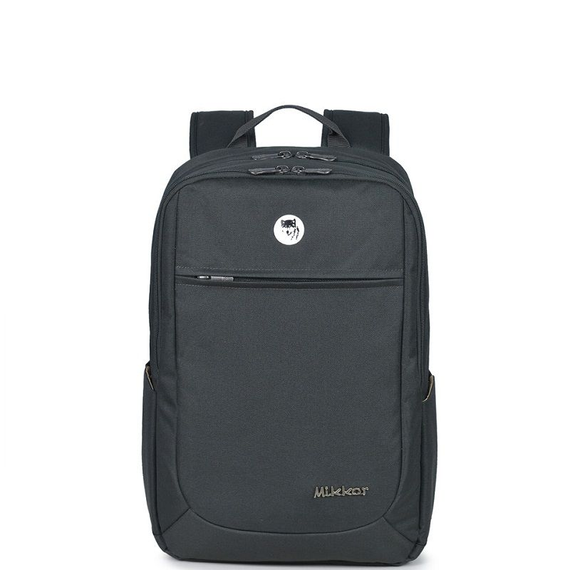 Balo Mikkor The Edwin Backpack Charcoal