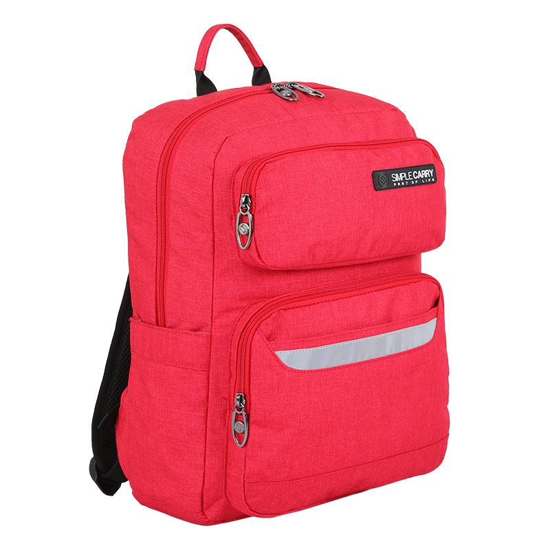 Balo Simplecarry Issac Safety 1 D.red