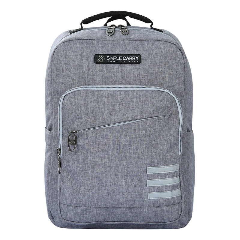 Balo Simplecarry Issac Safety 3 B.Grey