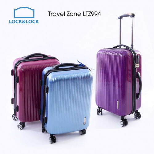 Vali kéo Lock&Lock Travel Zone 20 inch LTZ994RTSA