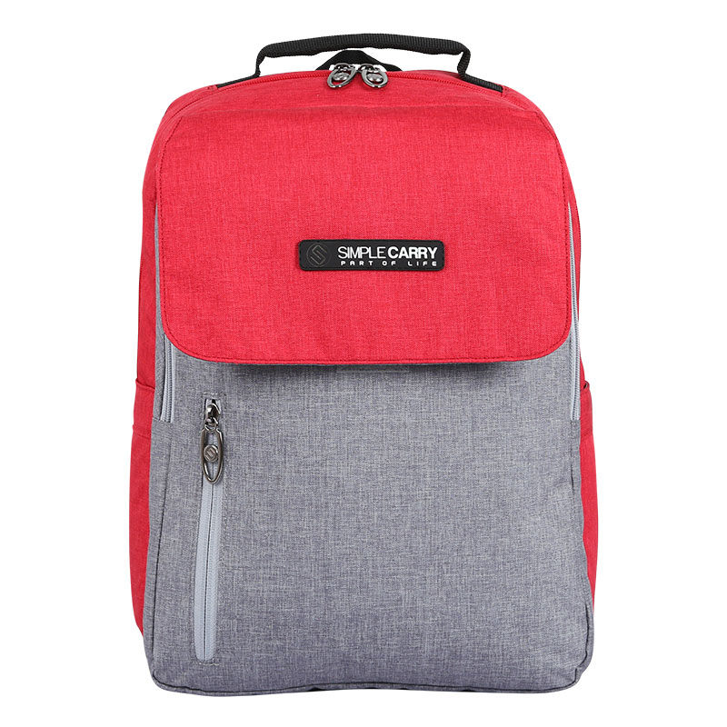 Balo Simplecarry ISSAC 2 D.Red/Grey