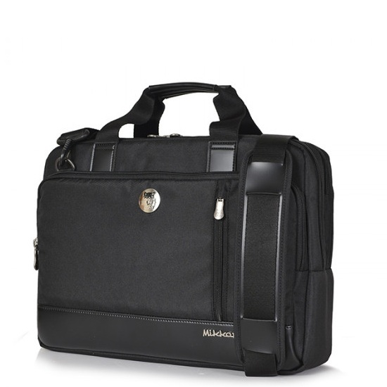 Cặp Laptop Mikkor The Ralph Briefcase Black