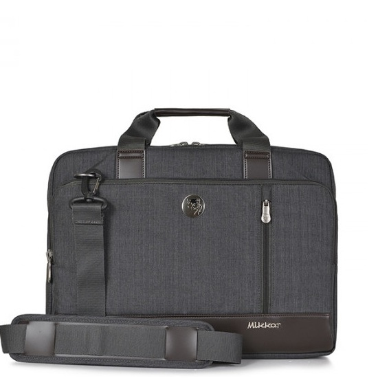 Cặp Laptop Mikkor The Ralph Briefcase Graphite