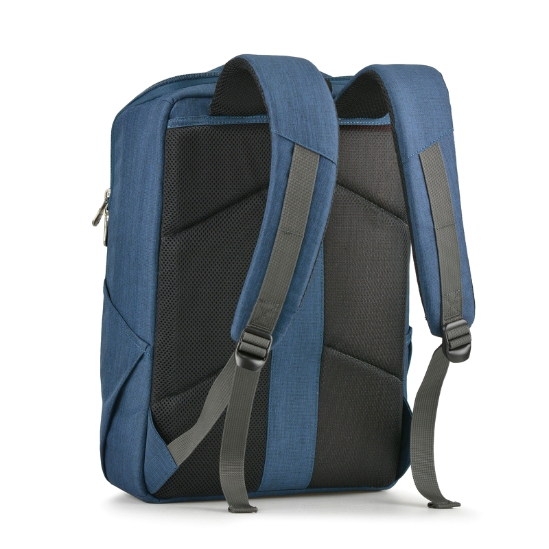 Balo laptop Mikkor The Lewie Backpack Navy 1