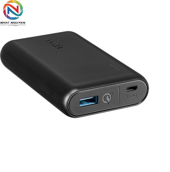 Pin dự phòng Anker PowerCore Speed 10000 Quick Charge 3.0 - A1266H11