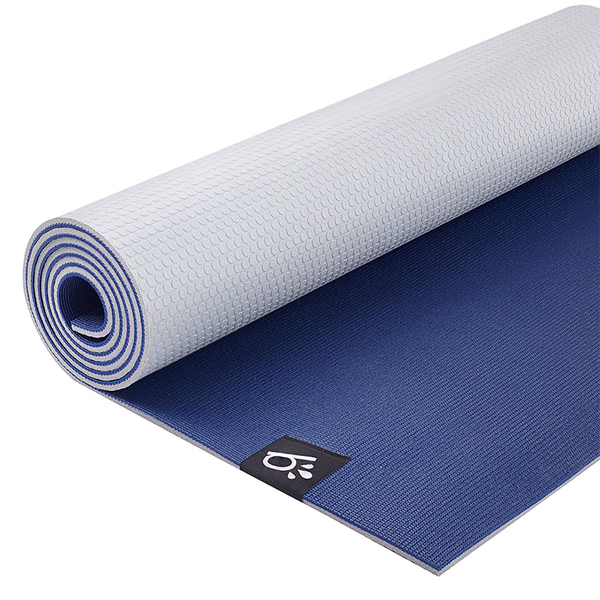 Thảm tập yoga PVC Beinks b-ROCK 6mm - Blue Grey