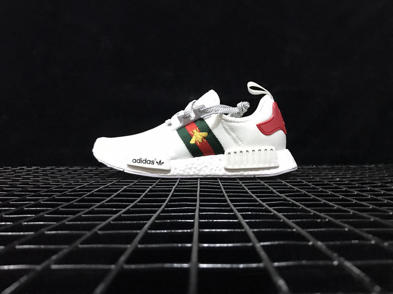 save off 7805a 3ad38 NMD R1 x Gucci White