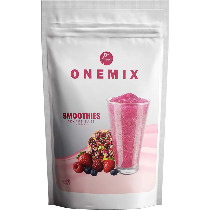 Bột Mix (Bột Frappe) OneMix Smoothies - túi 1kg