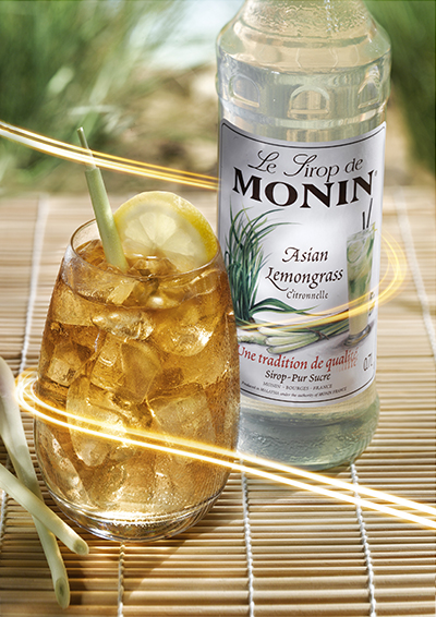 Siro Sả Monin (Asian Lemongrass syrup) - chai 700ml