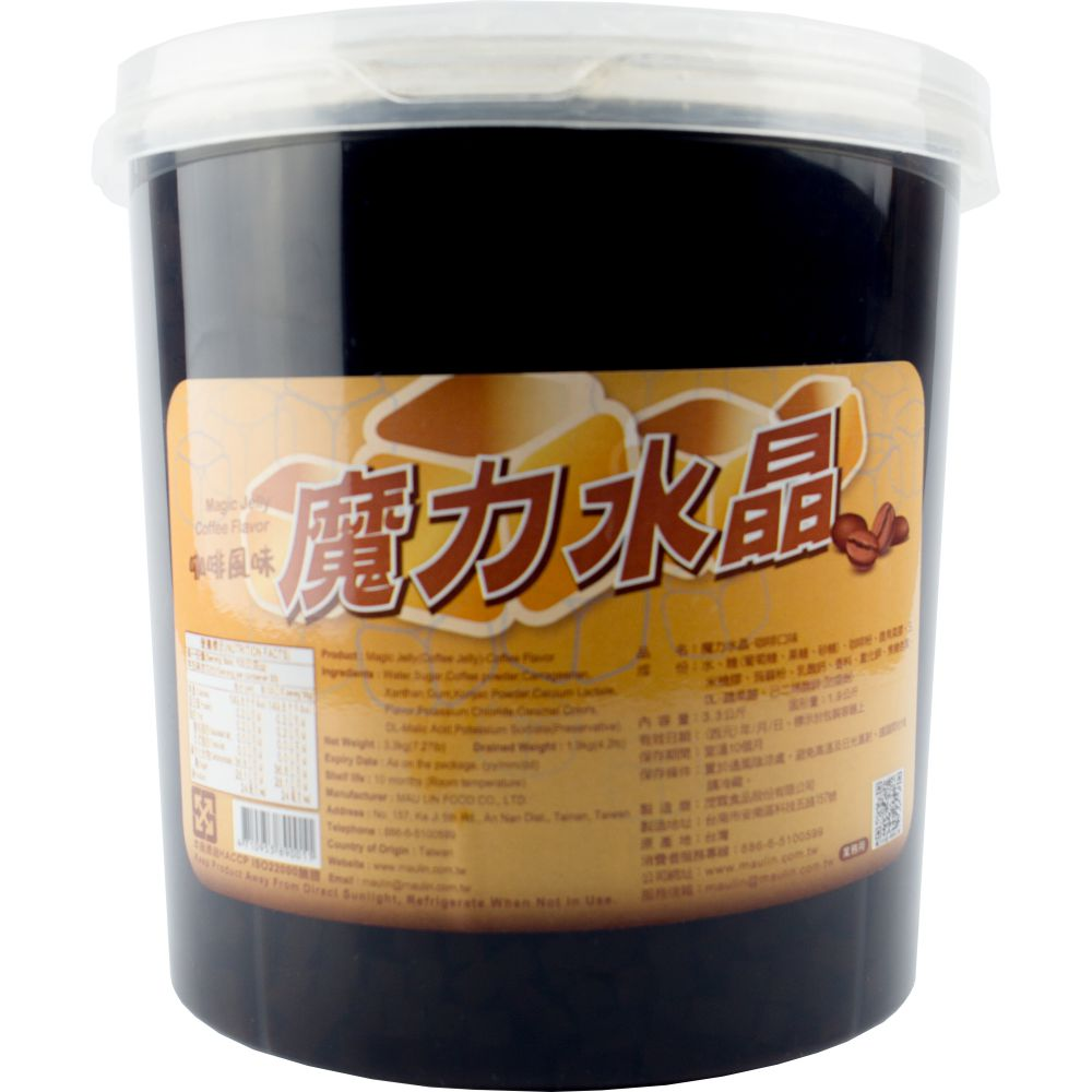 Thạch Jelly cà phê Mau Lin 3,3kg (Magic Jelly Coffee Flavour)