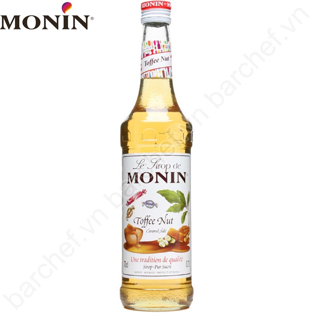 Siro Kẹo Toffee Monin (Toffee Nut syrup) - chai 700ml