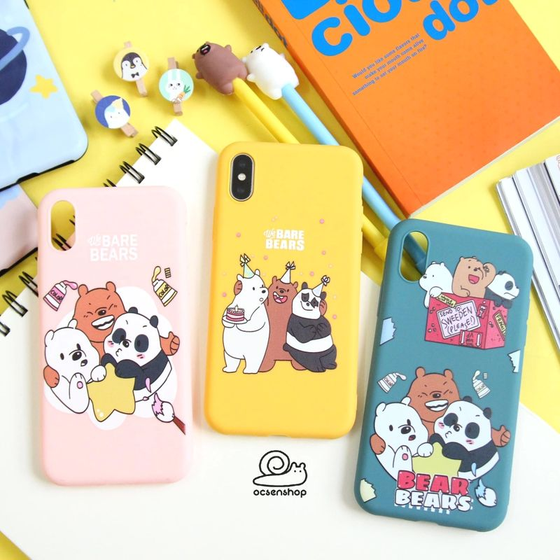 Op silicon We Bare Bears