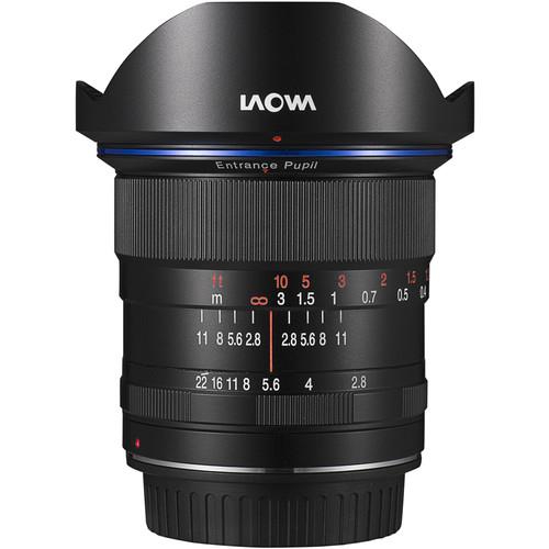Ống kính Laowa 12mm f/2.8 Zero-D Lens for Sony E