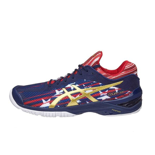 Giày Tennis Asics Gel Court FF Navy/Red E714N.4994