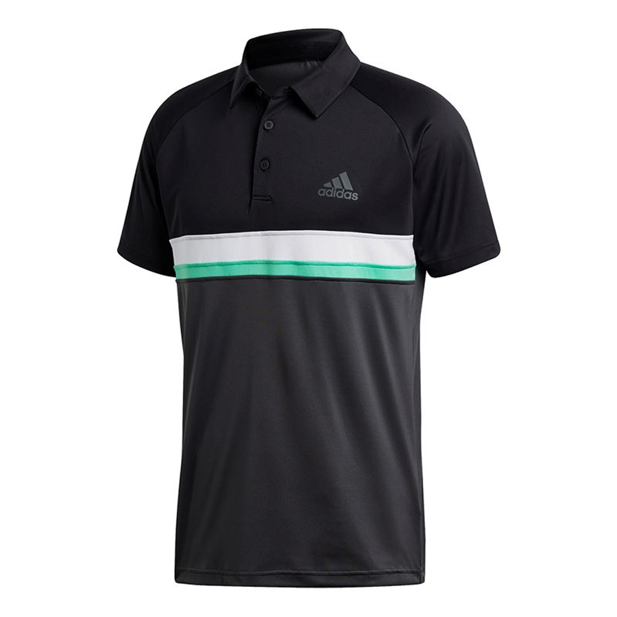 Áo Tennis Adidas Club Textured Polo Black CE1422