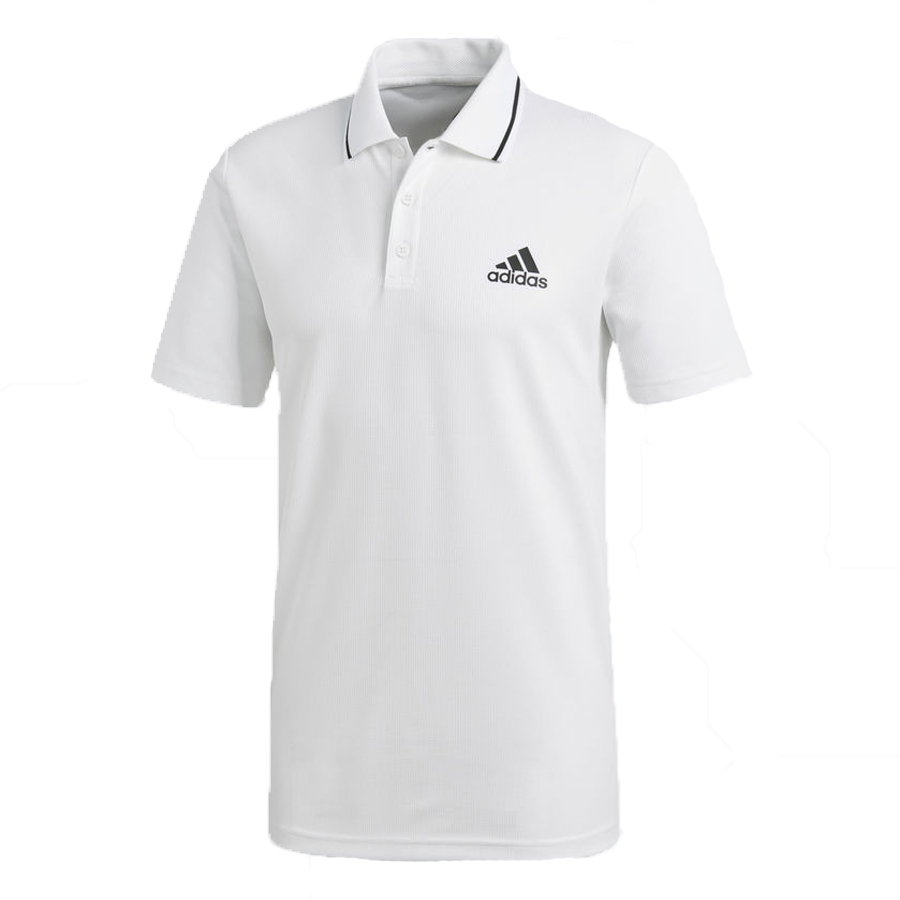 Áo Tennis Adidas Club Textured Polo White CD7474