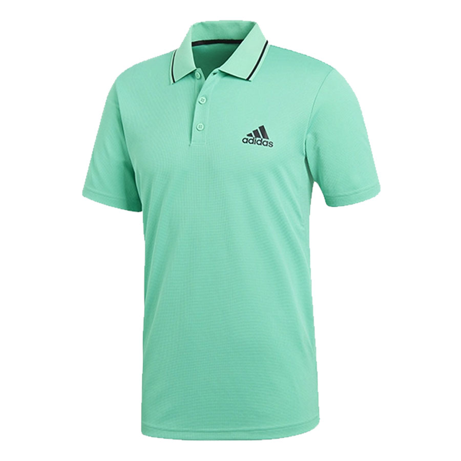 Áo Tennis Adidas Club Textured Polo Blue CE0402